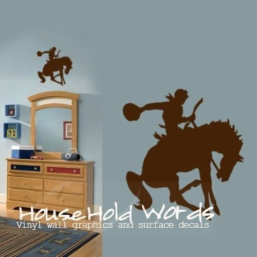 Cowboy Wall Decal With Images Western Nursery Nursery Decals