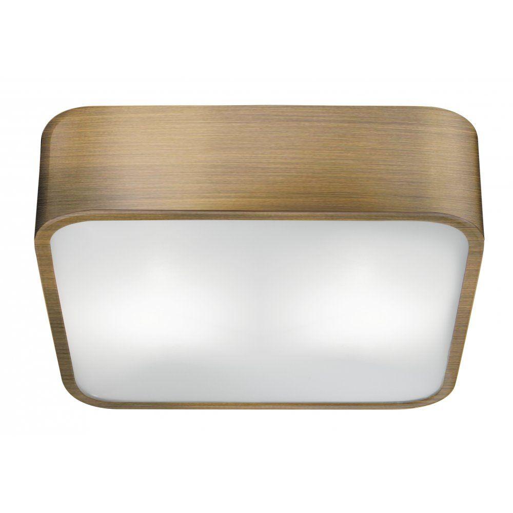 Searchlight 1030 30ab 2 light flush ceiling light antique brass searchlight 1030 30ab 2 light flush ceiling light antique brass mozeypictures Images