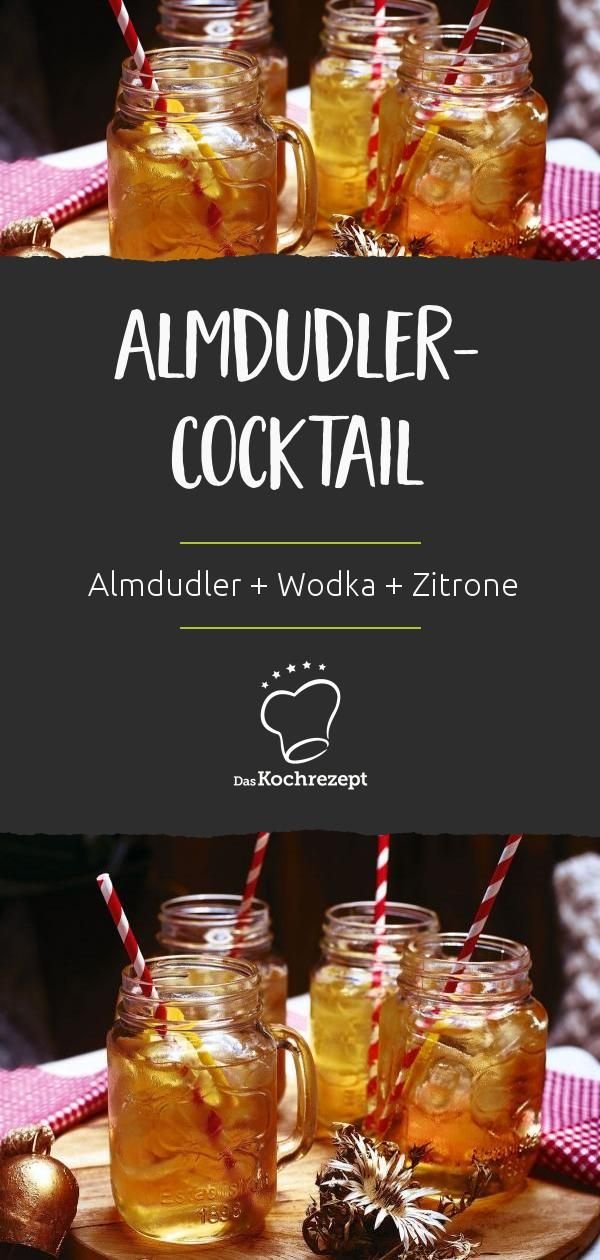 Photo of Almdudler cocktail