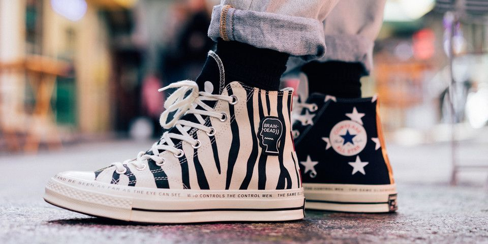cc3dca0453f4 An On-Foot Look at the Brain Dead x Converse Chuck Taylor All  70 ...