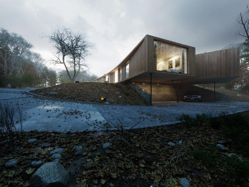 This is the Villa K, an outstanding modern construction designed - plan d une maison en 3d