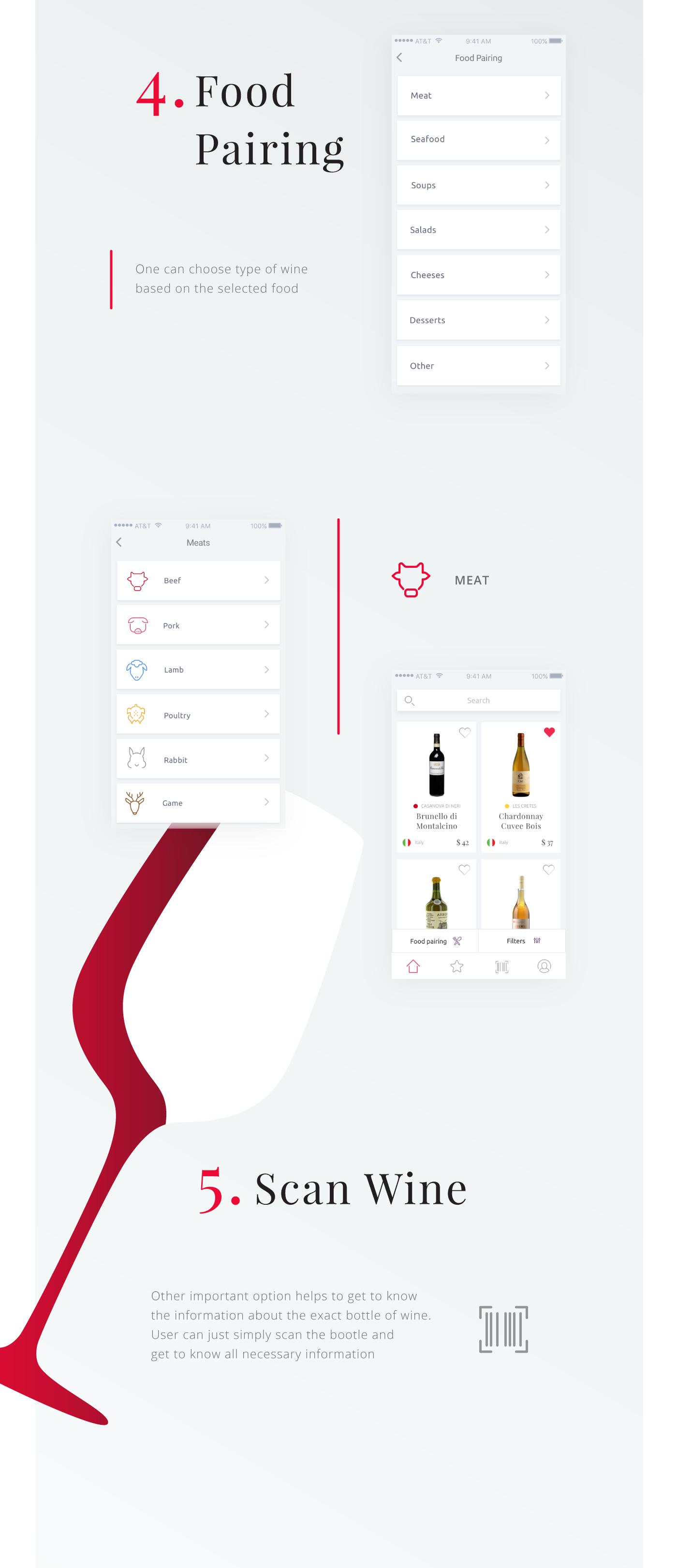 Interaction Design Wine Searcher Application