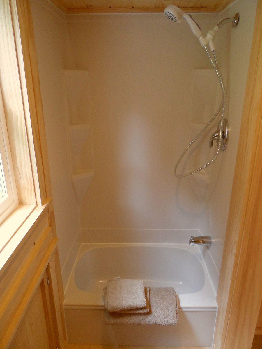 Ynez Tiny House  Tiny House Swoon  Tiny house bathtub, Tiny