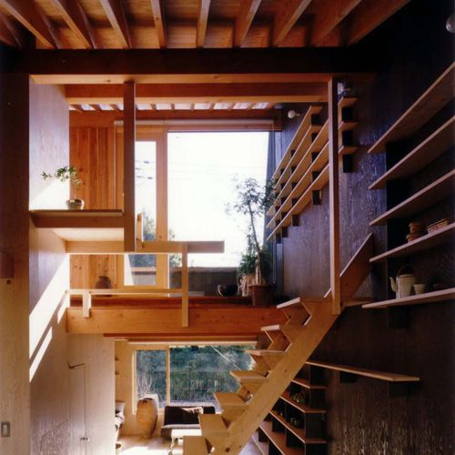 Japanese Houses Interior natural modern interiors: small house design :: a japanese open