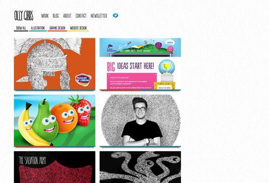 20 inspiring examples of design portfolios - Graphic Design Portfolio Ideas