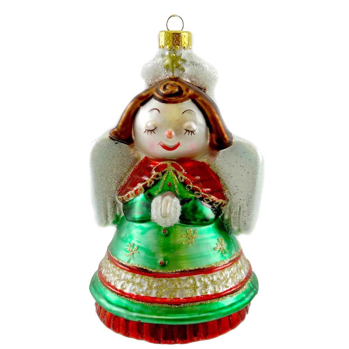 Holiday Ornament Retro Ornament Glass Ornament