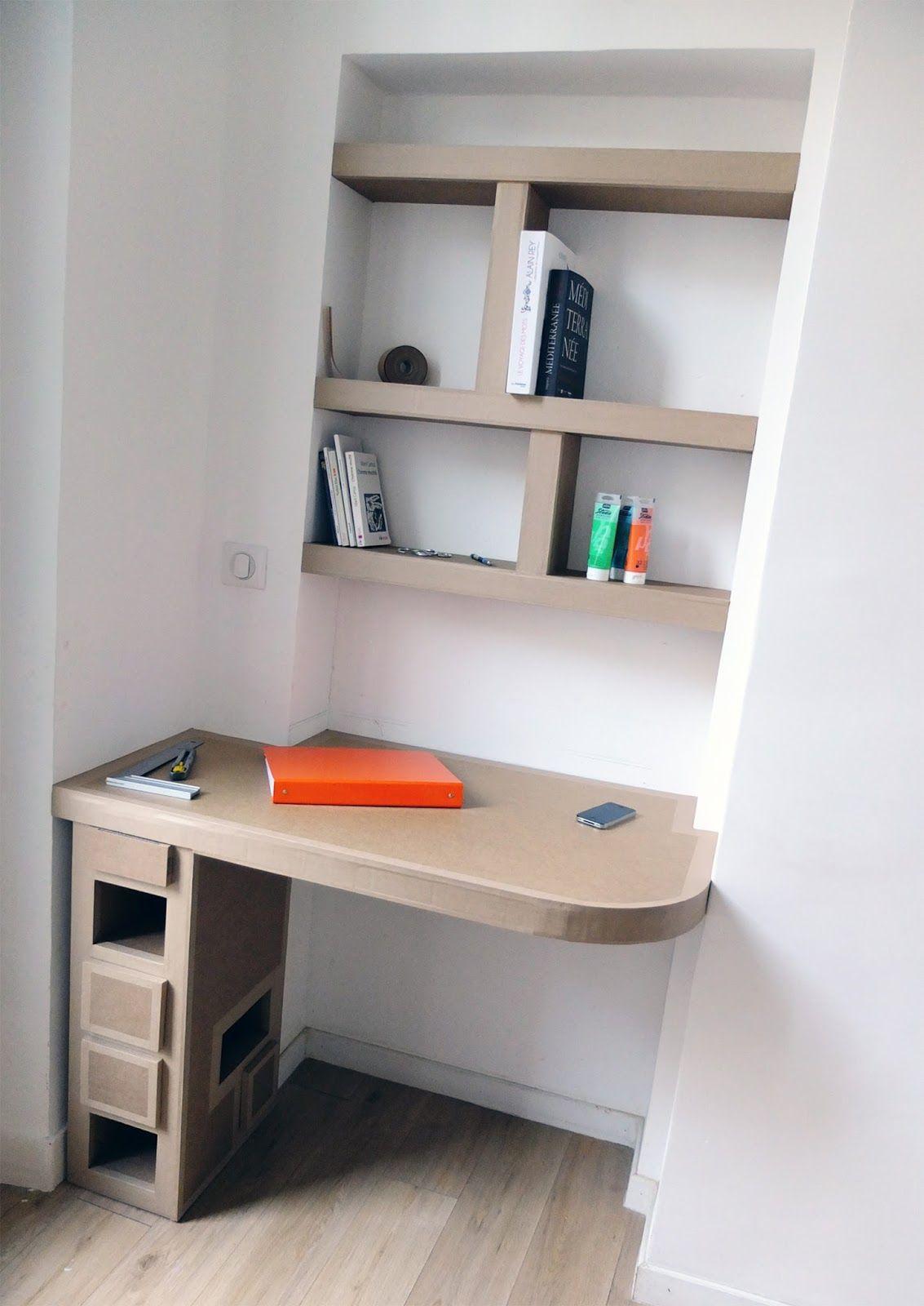 Shelf And Cardboard Office Cart N Pinterest Estantes De  ~ Estanterias De Carton Reciclado