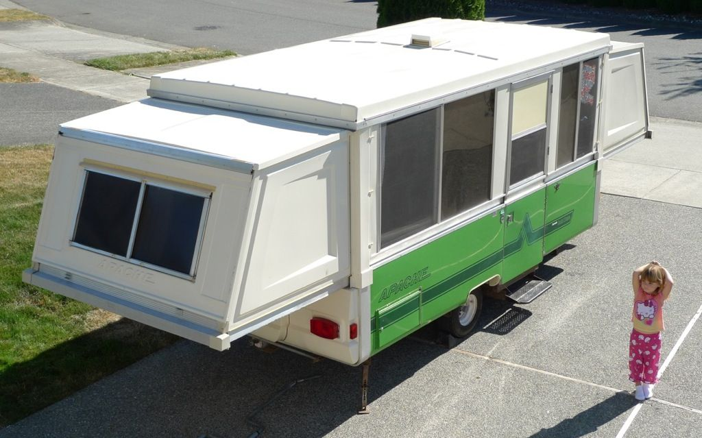 1978 Apache Pop Up Trailer With Images Pop Up Trailer Pop Up