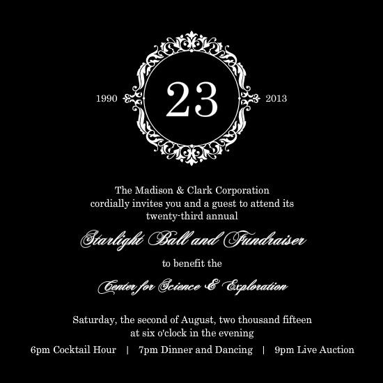 charity invitation Ball Pinterest Elegante, Panfletos e - fundraiser invitation
