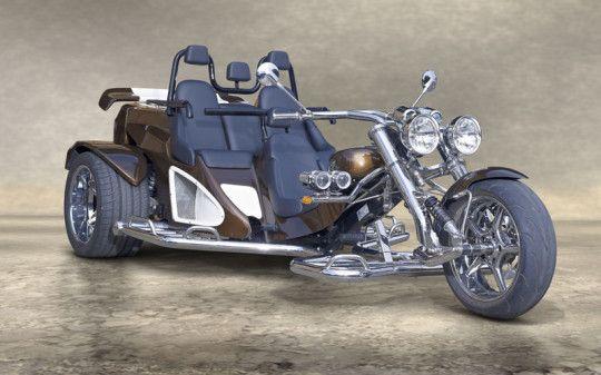Boom Mustang Family 3 Seater Motor Trike Trike Motorcycle Trike