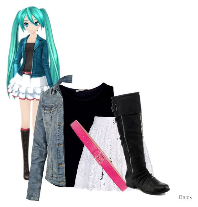 """""""Miku"""" by pearliexxi ❤ liked on Polyvore featuring Pieces, Alice + Olivia, Fat Face, Fendi and ANNA"""