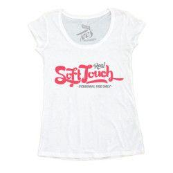 Shirt Donna Touch T Biancarossagrigia Soft Tf8d1dnR
