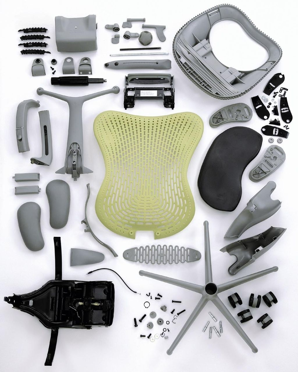 herman miller mirra chair for the studio looks like you get a fair few parts