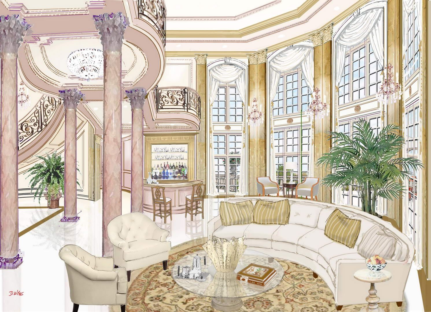 The Abuja French Chateau Nigeria Africa Luxury House Plans