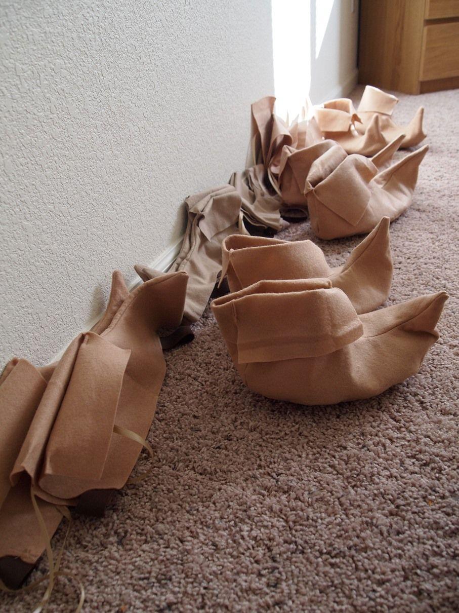 5d8033504d4 Seven Dwarf Slippers   Shoe Covers