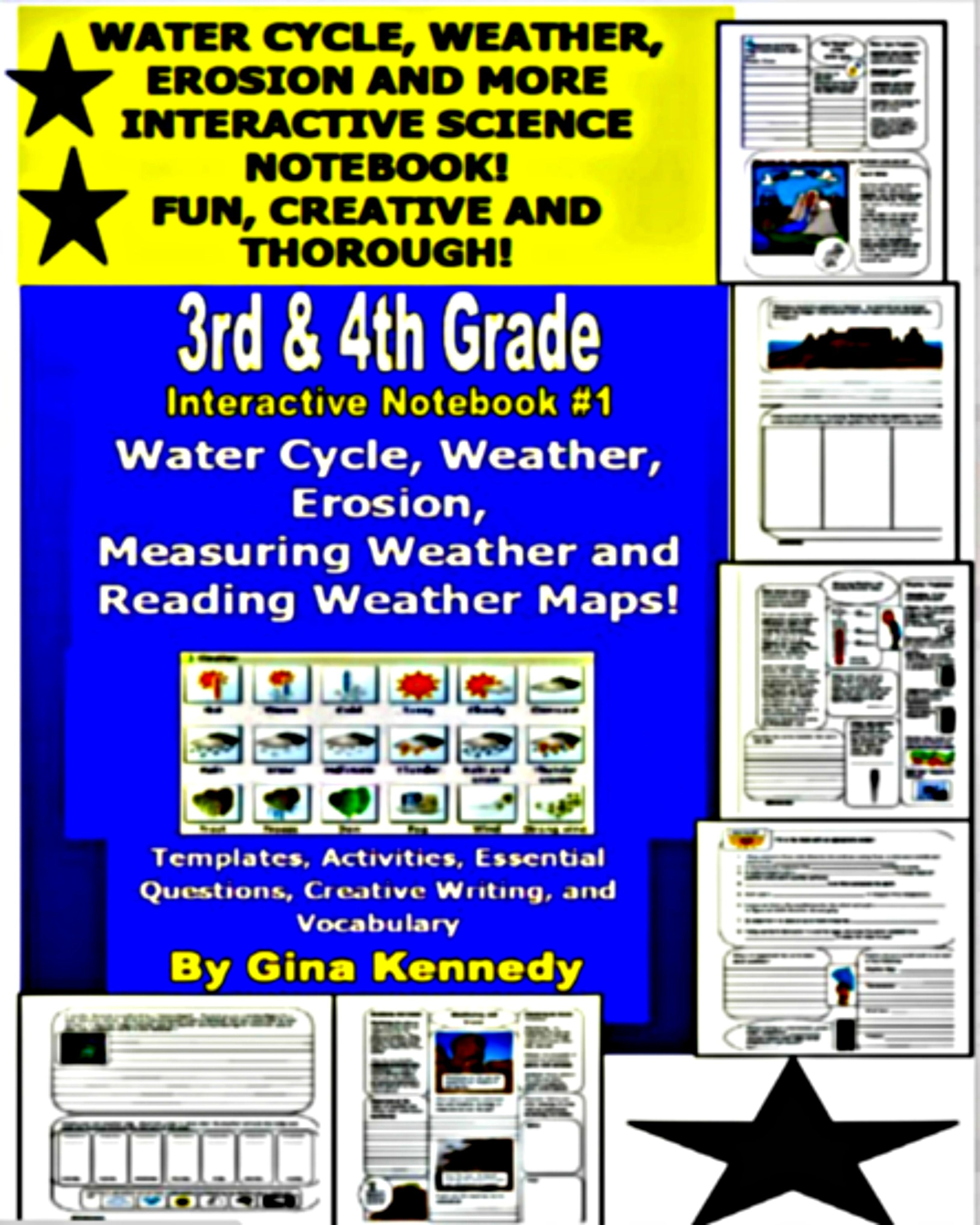 Rigorous Interactive Science And Writing Water Cycle
