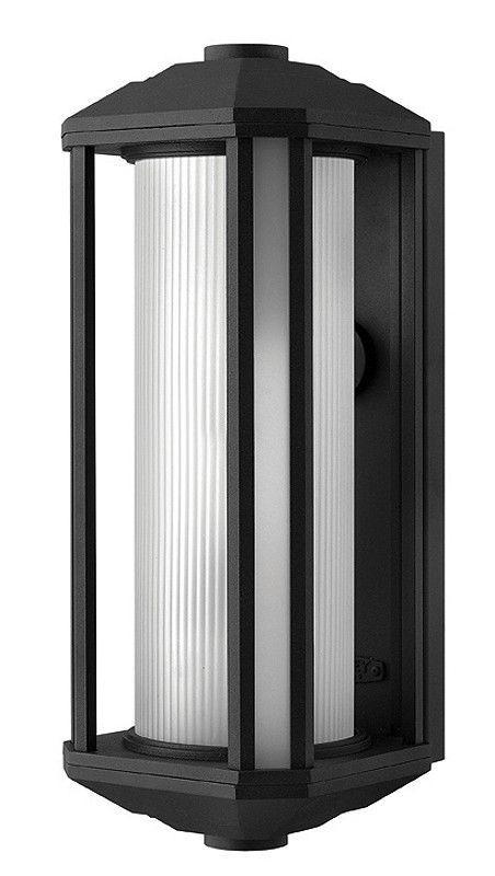 "0-014315>18""""h Castelle Outdoor Wall Lantern Black"