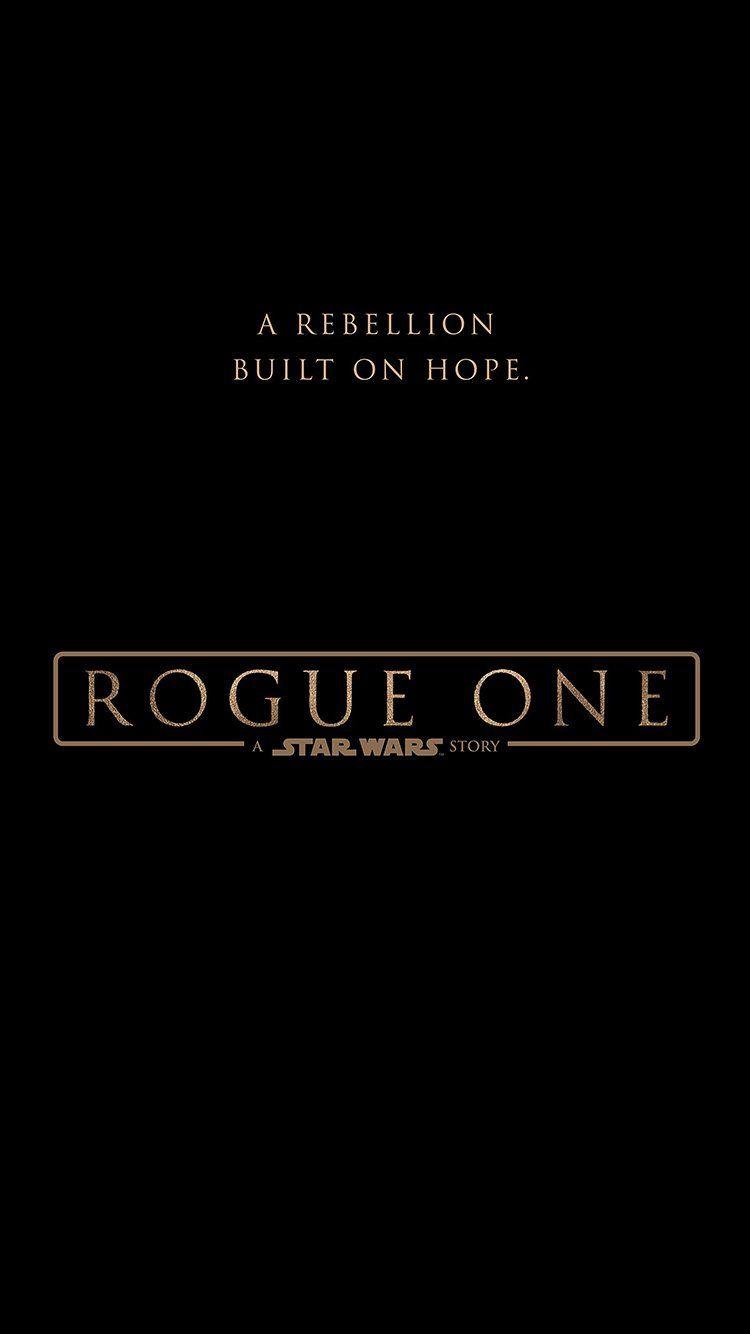 Rogue One Starwars Poster Logo Illustration Art Movie Wallpaper Hd