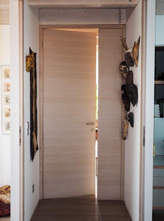 Innentüren eiche furniert  Innentuer raumhoh Eiche weiss quer furniert | Doors | Pinterest ...