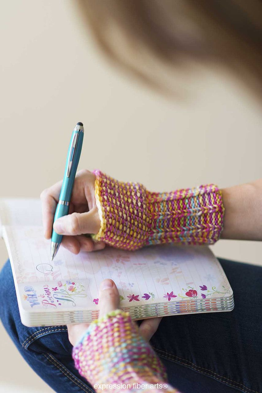 Free knitting pattern writers wristies easy wrist warmers by free knitting pattern writers wristies easy wrist warmers by expression fiber arts bankloansurffo Image collections