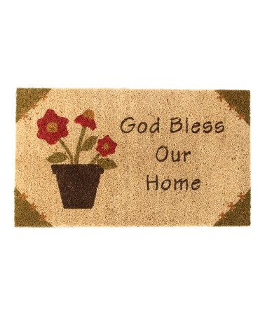 Take A Look At This Park Designs God Bless Our Home Door