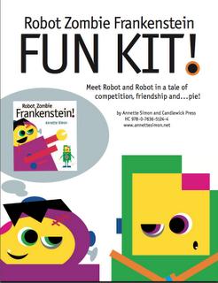 Robot Zombie Frankenstein Fun Kit!  Robot Zombie Frankenstein! by Annette Simon