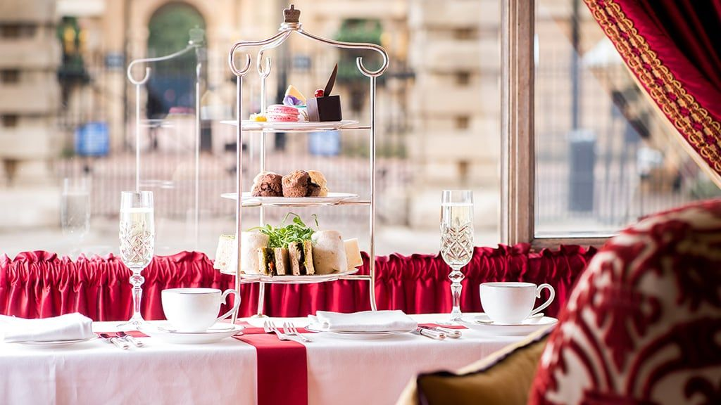 Afternoon Tea near Buckingham Palace Victoria London
