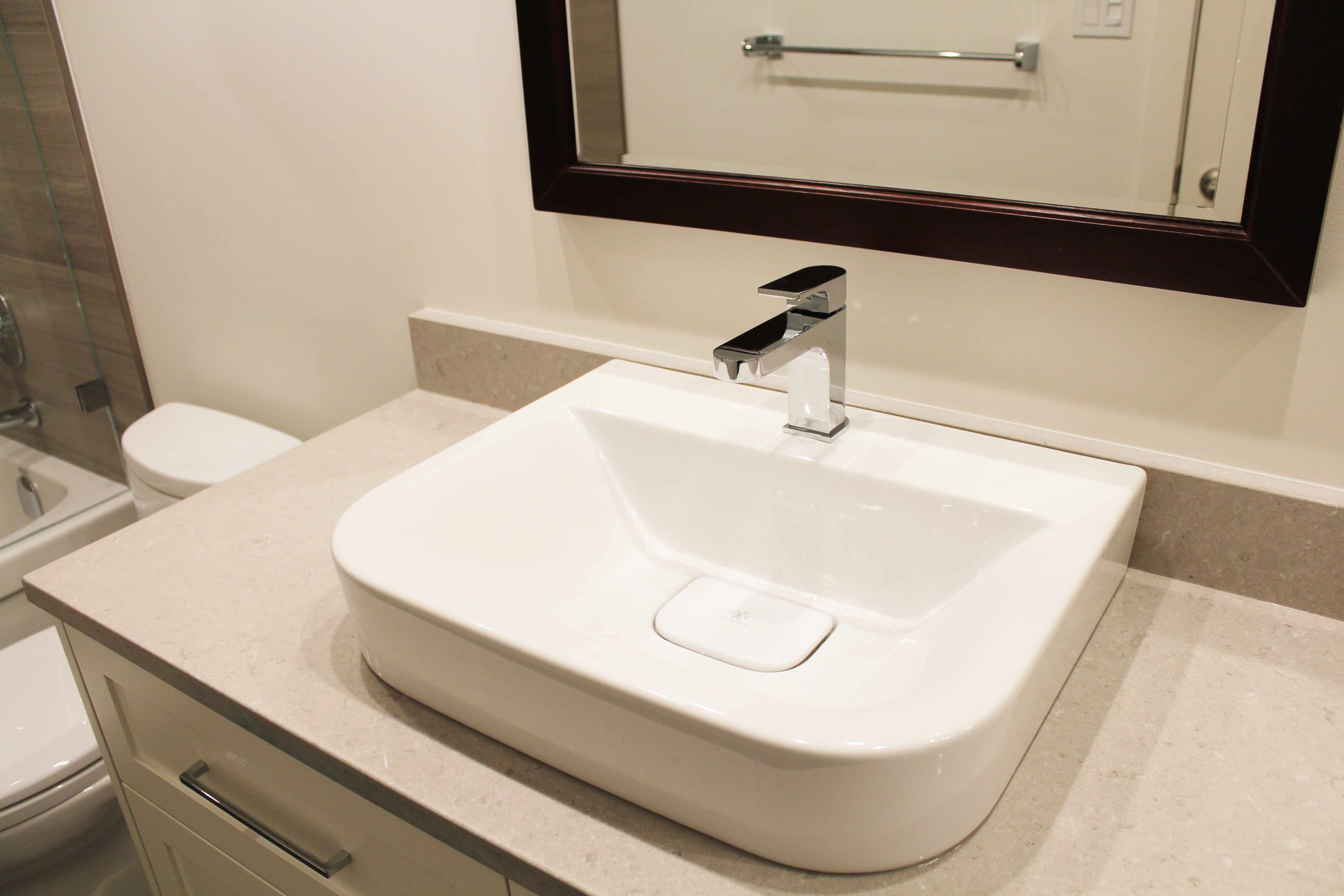 Beautiful Bathroom Renovation Project Featuring 18\