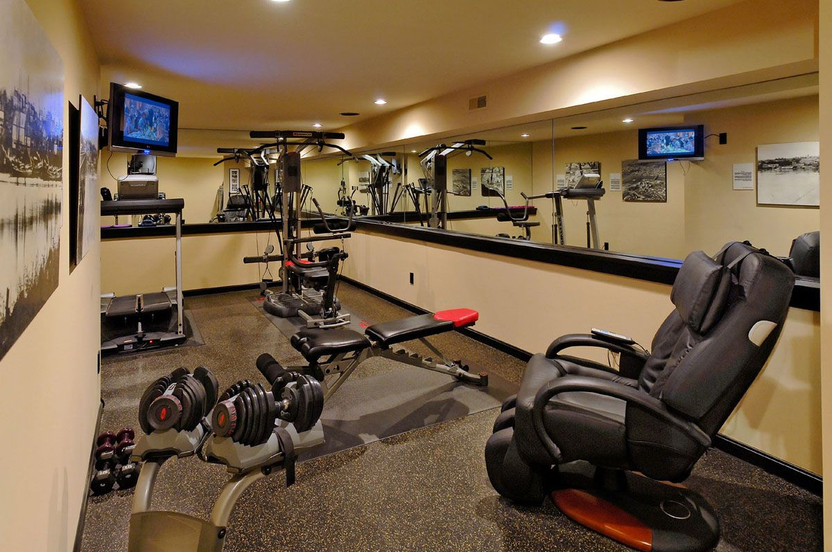 25 Stunning Private Gym Designs For Your Home | Gym, Gym design ...