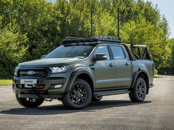 Military Spec Ford Ranger Makes Raptor Look Feeble In 2020 Ford Ranger 2019 Ford Ranger Ford Ranger Wildtrak