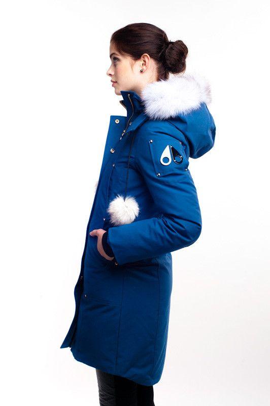4e47c8df937 Moose Knuckles bright blue parka