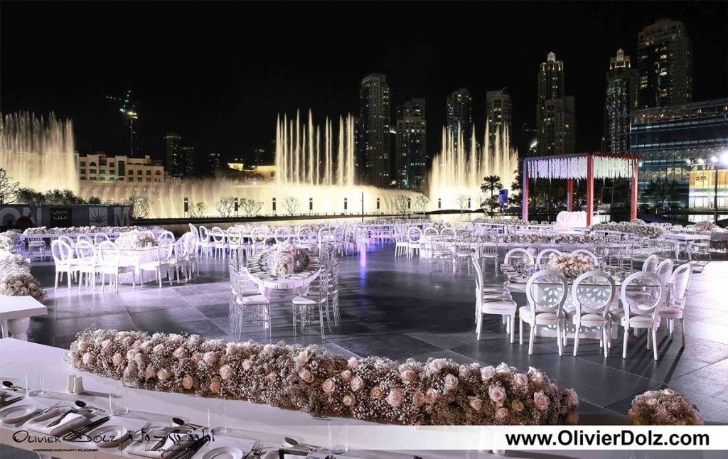 Wedding venues in dubai armani hotel ballroom dubai for Best hotels in dubai for honeymoon