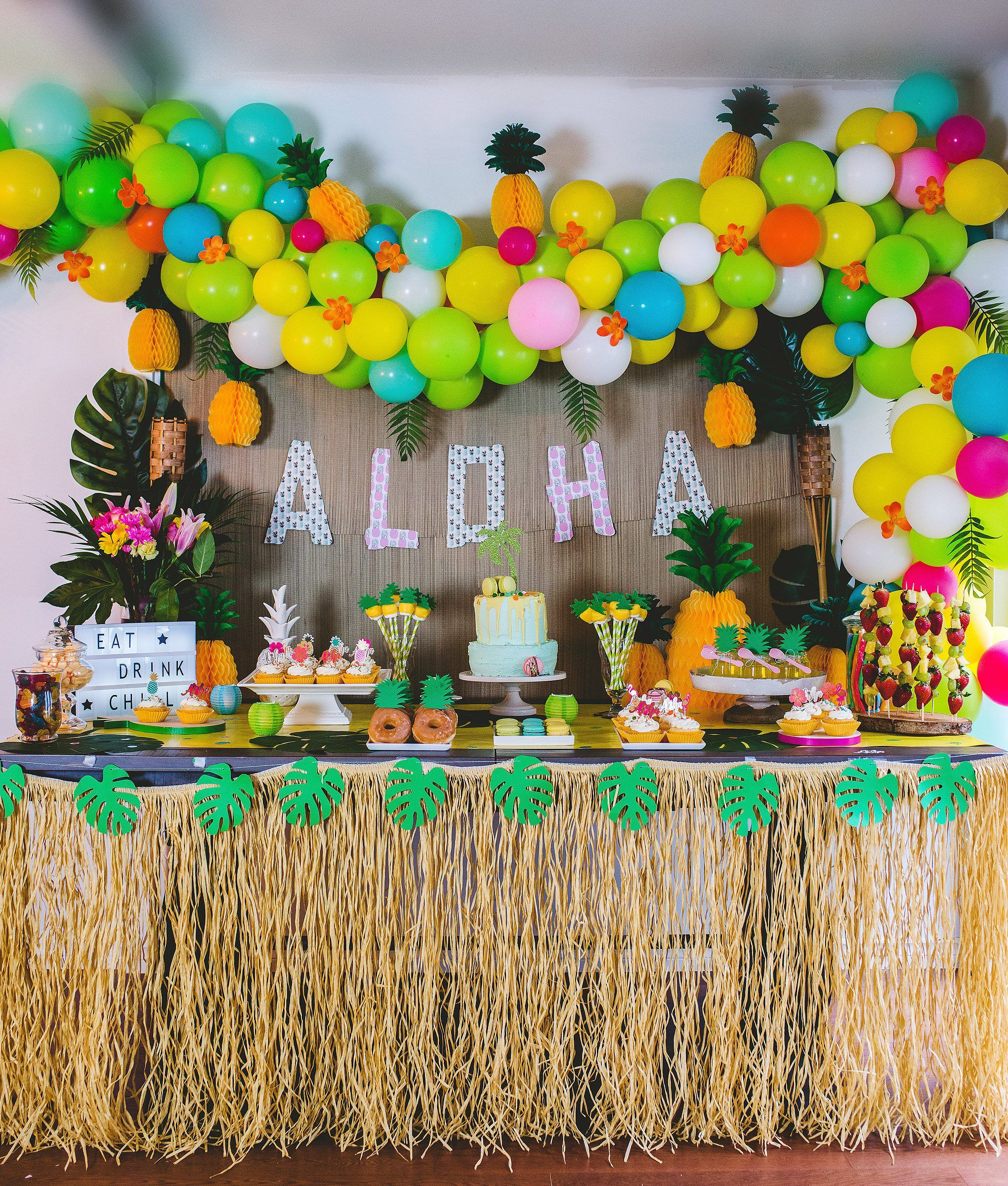 Party Like A Pineapple – Luau Birthday Party Ideas