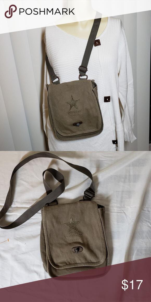 d9ae508180e2 💲CONVERSE Purse Converse crossbody purse. approximately 7