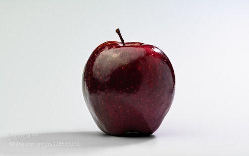 Apple by sztyon87  IFTTT 500px apple red shadow softlight