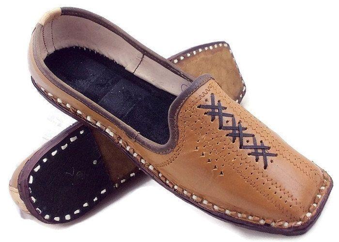 1a35aa197c5b free shipping ehtnic look Paisley Mens Flats