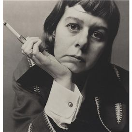 """There's nothing that makes you so aware of the improvisation of human existence as a song unfinished. Or an old address book."" ~ Carson McCullers (photo by Irving Penn)."