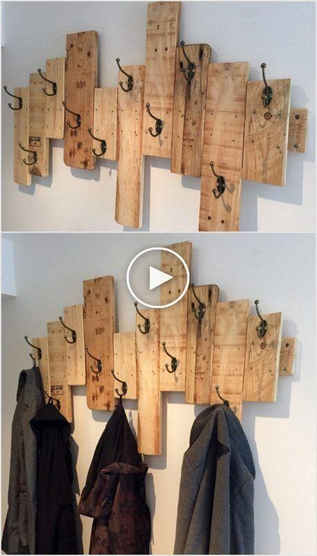 101 Projekte von DIY-Garderobenständern für inspirierende ...