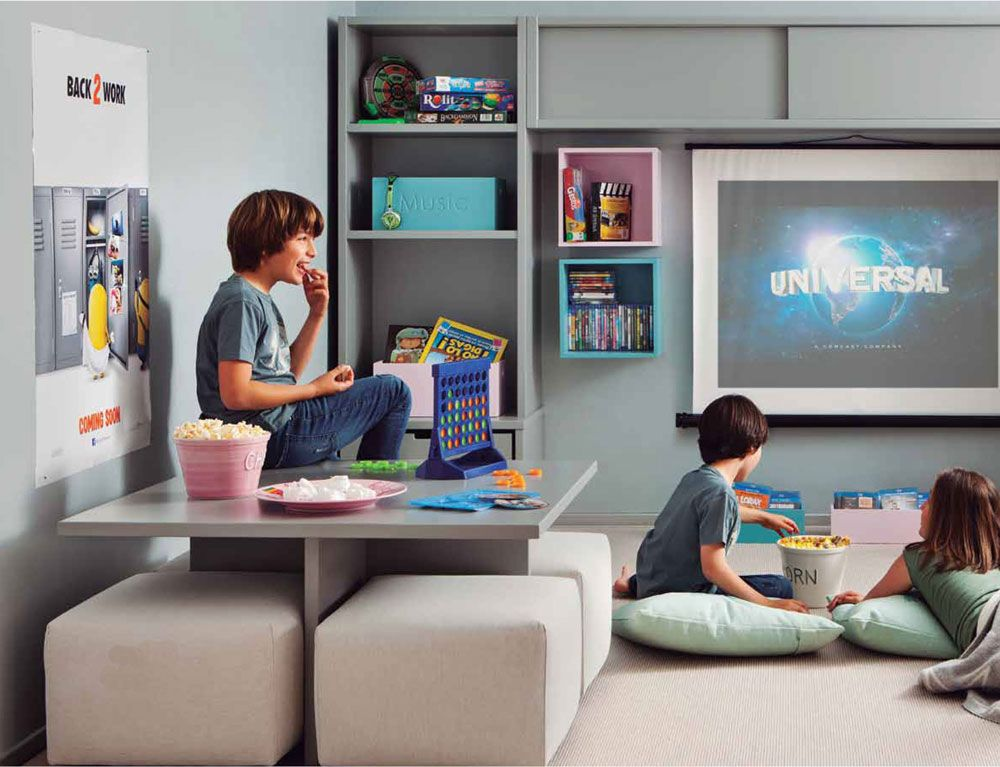 Cuartos de juegos para niños | En el blog | Sala de videojuegos ...