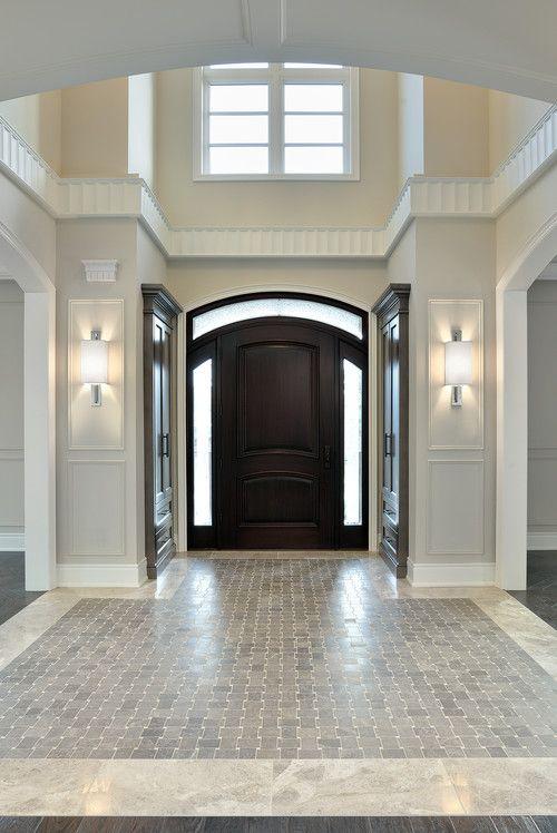 Foyer Tile Design Ideas foyer traditional entry Paint