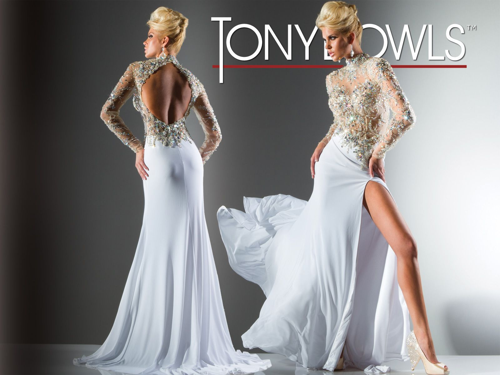 Tony bowls collection style no c tony bowls gowns