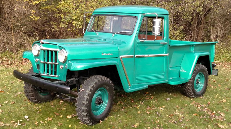 1962 Willys Truck Photo Submitted By Randy Covert Met