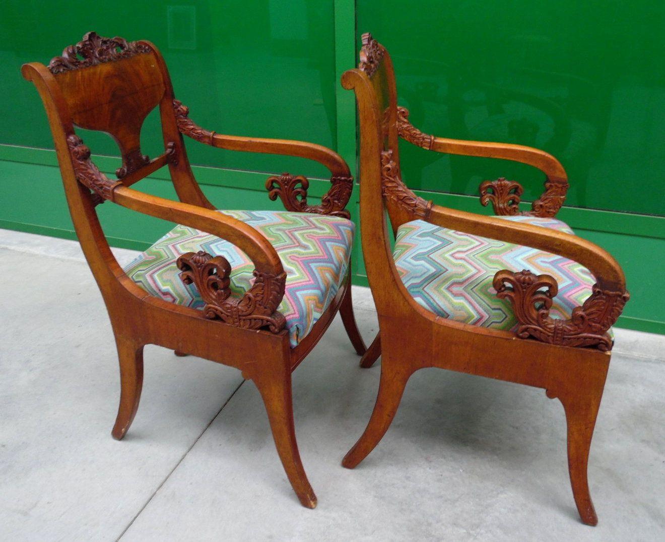 Sedie Francesi ~ Salottino sedie e due poltrone stile carlo ebanisteria