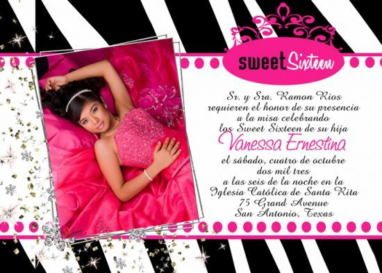 17 Best images about Quinceanera Invitations & Styles on Pinterest ...