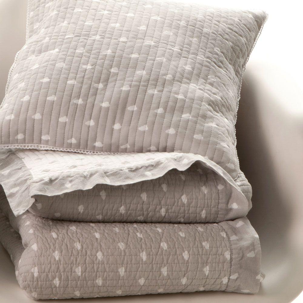 grey clouds quilt and cushion cover / zara home kids ... last feb ... - Kinderzimmer Gestalten Wohnaccessoires Zara Home