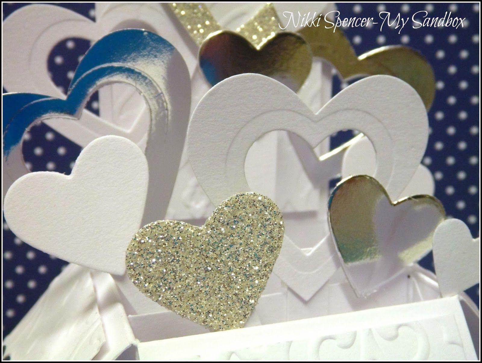 My Sandbox: Card in a Box...Wedding Style!