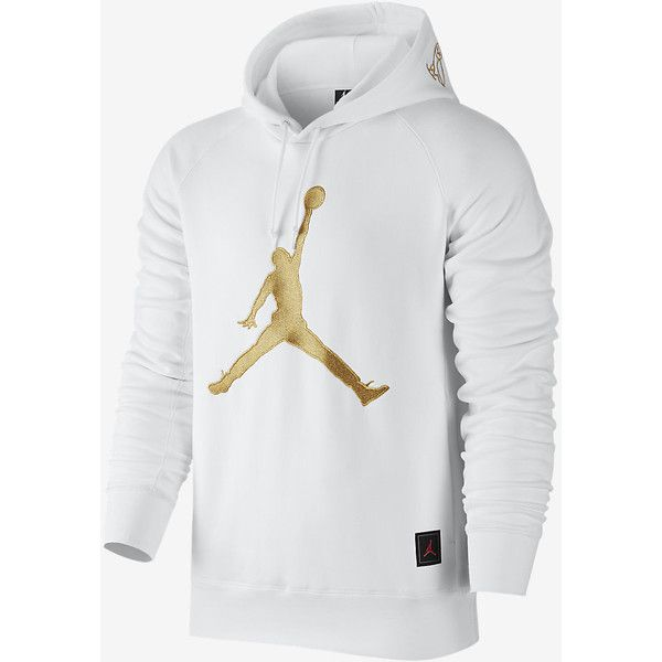 81bbb775ab8b0a Jordan OVO Fleece Sweatshirt Men s Hoodie. Nike.com UK ( 125) ❤ liked on  Polyvore featuring men s fashion