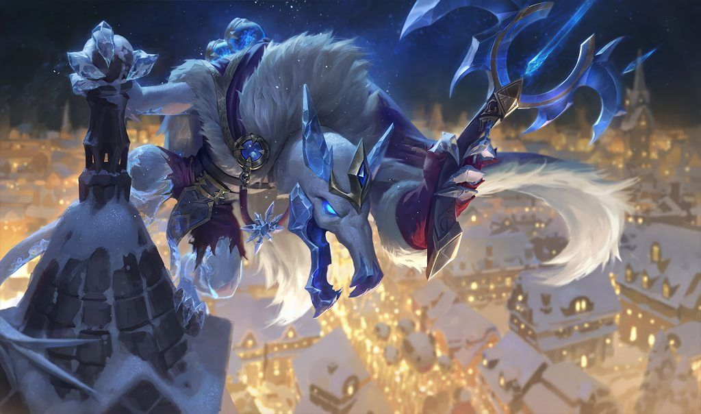 Ice King Twitch Splash Art HD Wallpaper Background Official Art