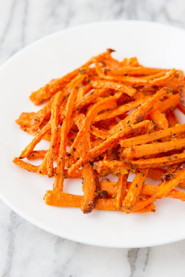 Crispy Carrot Fries From Martha Stewarts Vegetables