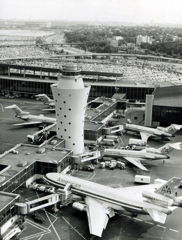 American LaGuardia in 2020 Vintage airlines, American